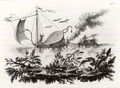 Filippo Morghen (Italian, 1730-1807). <em>Land of the Moon, Plate 6</em>, 1764. Etching on laid paper, 10 13/16 x 14 3/4 in. (27.5 x 37.5 cm). Brooklyn Museum, Frank L. Babbott Fund, 53.195.6 (Photo: Brooklyn Museum, CUR.53.195.6.jpg)