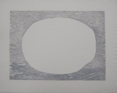 Boris Margo (American, 1902-1995). <em>From Meteorites</em>, 1952. Cellocut on paper, sheet (c): 15 3/4 x 20 1/16 in. (40 x 51 cm). Brooklyn Museum, Gift of the International Graphic Arts Society, 54.149.2c-e. © artist or artist's estate (Photo: Brooklyn Museum, CUR.54.149.2c.jpg)
