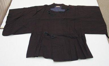 <em>Coat</em>, 1952. Cotton and silk, 34 7/16 x 50 13/16 in. (87.5 x 129 cm). Brooklyn Museum, Gift of Carolyn Schnurer, 55.195.9. Creative Commons-BY (Photo: Brooklyn Museum, CUR.55.195.9.jpg)