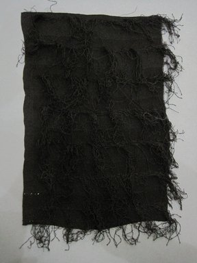 <em>Textile Fragment</em>, early to mid 20th century. Silk, 8 x 11 1/4 in. (20.3 x 28.6 cm). Brooklyn Museum, Gift of Adelaide Goan, 55.96.127.12 (Photo: Brooklyn Museum, CUR.55.96.127.12.jpg)
