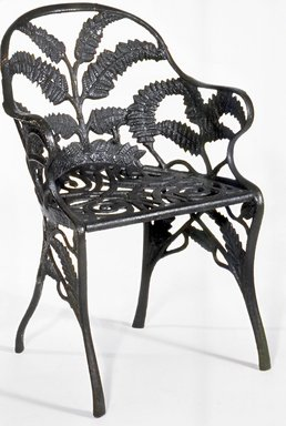 <em>Armchair</em>. Cast iron Brooklyn Museum, Bequest of Mrs. William Sterling Peters, 59.59. Creative Commons-BY (Photo: Brooklyn Museum, CUR.59.59.jpg)