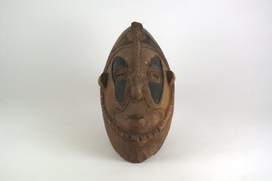 <em>Mask with Hook Nose</em>, 20th century. Wood, pigment, 3 3/8 x 4 5/16 x 12 3/16 in. (8.6 x 11 x 31 cm). Brooklyn Museum, Museum Collection Fund, 60.52.5. Creative Commons-BY (Photo: Brooklyn Museum, CUR.60.52.5_front_PS5.jpg)
