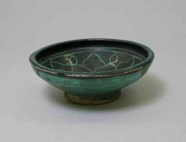 <em>Deep Bowl</em>. Painted ware, 2 3/16 x 5 11/16 in. (5.5 x 14.5 cm). Brooklyn Museum, Gift of Mrs. Edward A. Behr, 61.118.3. Creative Commons-BY (Photo: Brooklyn Museum, CUR.61.118.3_exterior.jpg)