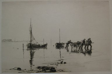 Charles Adams Platt (American, 1861-1933). <em>A Misty Morning</em>, 1888. Etching and dry point on Japan paper, Sheet: 18 x 24 1/4 in. (45.7 x 61.6 cm). Brooklyn Museum, Gift of Mr. and Mrs. Waldo W. Sellew, 61.22 (Photo: Brooklyn Museum, CUR.61.22.jpg)