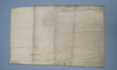 <em>[Missing Catalogue Sheet]</em>, 1940s. Metallic thread, 14 1/2 x 23 in. (36.8 x 58.4 cm). Brooklyn Museum, Gift of Alan L. Wolfe, 61.48.44 (Photo: Brooklyn Museum, CUR.61.48.44.jpg)
