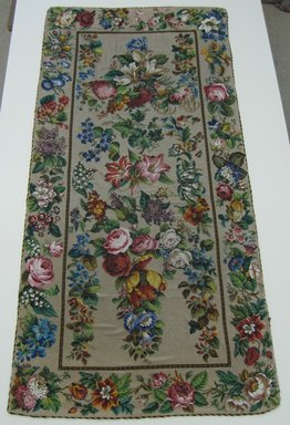 <em>Table Cover</em>, late 18th-19th century. glass beads, 35 x 74 in. (88.9 x 188 cm). Brooklyn Museum, Gift of Ferdinand R. Stirn, 62.104.1. Creative Commons-BY (Photo: Brooklyn Museum, CUR.62.104.1.jpg)