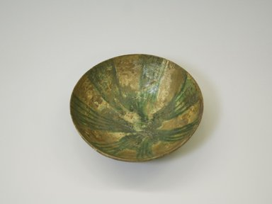 <em>Deep Bowl</em>, 10th century. Clay, 2 11/16 x 8 7/16 in. (6.9 x 21.5 cm). Brooklyn Museum, Gift of Mrs. Joseph M. Schulte, 62.178.2. Creative Commons-BY (Photo: Brooklyn Museum, CUR.62.178.2.jpg)