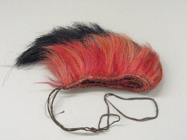 Plains. <em>Roach</em>, 1801-1900. Deerhair, porcupine guard hair, 16 15/16 x 1 3/4 in.  (43 x 4.5 cm). Brooklyn Museum, Dick S. Ramsay Fund, 63.201.3. Creative Commons-BY (Photo: Brooklyn Museum, CUR.63.201.3.jpg)