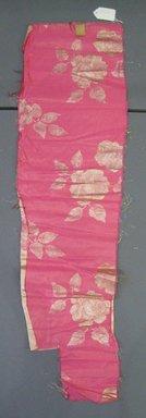 Onondaga Silk Company, Inc. (1925-1981). <em>Textile Swatches</em>, 1948-1959. Silk, metal, 46 x 12 1/2 in. (116.8 x 31.8 cm). Brooklyn Museum, Gift of the Onondaga Silk Company, 64.130.105 (Photo: Brooklyn Museum, CUR.64.130.105.jpg)