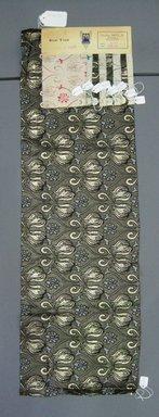 Onondaga Silk Company, Inc. (1925-1981). <em>Textile Swatches</em>, 1948-1959. Silk or synthetic yarns, metal, a: 36 x 11 in. (91.4 x 27.9 cm). Brooklyn Museum, Gift of the Onondaga Silk Company, 64.130.113a-i (Photo: Brooklyn Museum, CUR.64.130.113a-i.jpg)