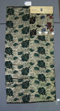 Onondaga Silk Company, Inc. (1925-1981). <em>Textile Swatches</em>, 1948-1959. 60% acetate, 27% nylon, 13% metal, a: 37 1/4 x 18 1/2 in. (94.6 x 47 cm). Brooklyn Museum, Gift of the Onondaga Silk Company, 64.130.114a-d (Photo: Brooklyn Museum, CUR.64.130.114a-d.jpg)