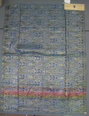 Onondaga Silk Company, Inc. (1925-1981). <em>Textile Swatches</em>, 1948-1959. 72% silk, 28% acetate, 47 1/2 x 35 1/2 in. (120.7 x 90.2 cm). Brooklyn Museum, Gift of the Onondaga Silk Company, 64.130.116 (Photo: Brooklyn Museum, CUR.64.130.116.jpg)