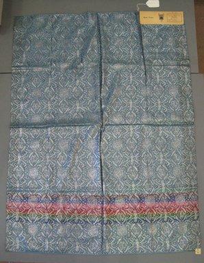 Onondaga Silk Company, Inc. (1925-1981). <em>Textile Swatches</em>, 1948-1959. 72% silk, 28% metal, 47 1/2 x 35 1/2 in. (120.7 x 90.2 cm). Brooklyn Museum, Gift of the Onondaga Silk Company, 64.130.117 (Photo: Brooklyn Museum, CUR.64.130.117.jpg)