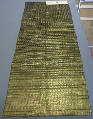 Onondaga Silk Company, Inc. (1925-1981). <em>Textile Swatches</em>, 1948-1959. 36% rayon; 33% metal; 31% acetate, largest component (a): 46 x 18 in. (116.8 x 45.7 cm). Brooklyn Museum, Gift of the Onondaga Silk Company, 64.130.131 (Photo: Brooklyn Museum, CUR.64.130.131.jpg)