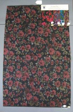 Onondaga Silk Company, Inc. (1925-1981). <em>Textile Swatches</em>, 1948-1959. Silk, a: 42 x 27 in. (106.7 x 68.6 cm). Brooklyn Museum, Gift of the Onondaga Silk Company, 64.130.146a-e (Photo: Brooklyn Museum, CUR.64.130.146a-e.jpg)