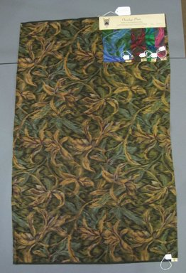 Onondaga Silk Company, Inc. (1925-1981). <em>Textile Swatches</em>, 1948-1959. Silk, a: 42 x 26 in. (106.7 x 66 cm). Brooklyn Museum, Gift of the Onondaga Silk Company, 64.130.147a-e (Photo: Brooklyn Museum, CUR.64.130.147a-e.jpg)