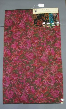 Onondaga Silk Company, Inc. (1925-1981). <em>Textile Swatches</em>, 1948-1959. Silk, a: 41 3/4 x 24 3/4 in. (106 x 62.9 cm). Brooklyn Museum, Gift of the Onondaga Silk Company, 64.130.149a-e (Photo: Brooklyn Museum, CUR.64.130.149a-e.jpg)