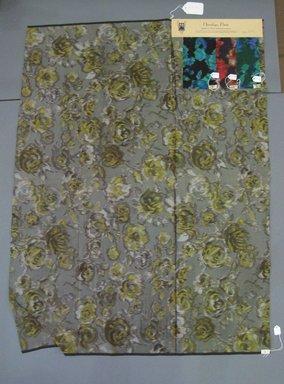 Onondaga Silk Company, Inc. (1925-1981). <em>Textile Swatches</em>, 1948-1959. Silk, a: 42 1/4 x 31 1/2 in. (107.3 x 80 cm). Brooklyn Museum, Gift of the Onondaga Silk Company, 64.130.151a-d (Photo: Brooklyn Museum, CUR.64.130.151a-d.jpg)