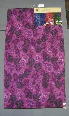 Onondaga Silk Company, Inc. (1925-1981). <em>Textile Swatches</em>, 1948-1959. Silk, a: 42 1/2 x 25 3/4 in. (108 x 65.4 cm). Brooklyn Museum, Gift of the Onondaga Silk Company, 64.130.154a-e (Photo: Brooklyn Museum, CUR.64.130.154a-e.jpg)