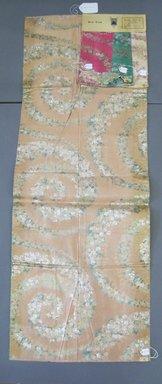 Onondaga Silk Company, Inc. (1925-1981). <em>Textile Swatches</em>. Silk, possibly synthetic fiber, metal, a: 46 1/2 x 17 in. (118.1 x 43.2 cm). Brooklyn Museum, Gift of the Onondaga Silk Company, 64.130.179a-d (Photo: Brooklyn Museum, CUR.64.130.179a-d.jpg)