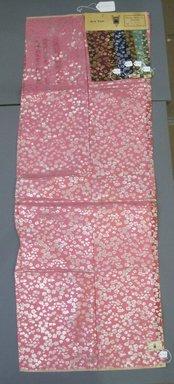 Onondaga Silk Company, Inc. (1925-1981). <em>Textile Swatches</em>, 1948-1959. 72% silk, 28% metal, a: 48 x 17 3/4 in. (121.9 x 45.1 cm). Brooklyn Museum, Gift of the Onondaga Silk Company, 64.130.186a-e (Photo: Brooklyn Museum, CUR.64.130.186a-e.jpg)