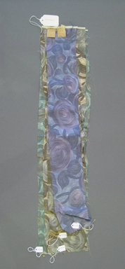 Onondaga Silk Company, Inc. (1925-1981). <em>Textile Swatches</em>, 1948-1959. Silk, a-d: 31 x 6 1/2 in. (78.7 x 16.5 cm). Brooklyn Museum, Gift of the Onondaga Silk Company, 64.130.194a-d (Photo: Brooklyn Museum, CUR.64.130.194a-d.jpg)