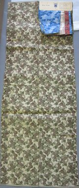 Onondaga Silk Company, Inc. (1925-1981). <em>Textile Swatches</em>, 1948-1959. Silk, b, c, f: 11 1/4 × 6 in. (28.6 × 15.2 cm). Brooklyn Museum, Gift of the Onondaga Silk Company, 64.130.1a-f (Photo: Brooklyn Museum, CUR.64.130.1a.jpg)