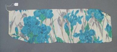 Onondaga Silk Company, Inc. (1925-1981). <em>Textile Swatches</em>, 1948-1959. Silk, 25 3/4 x 8 1/4 in. (65.4 x 21 cm). Brooklyn Museum, Gift of the Onondaga Silk Company, 64.130.209 (Photo: Brooklyn Museum, CUR.64.130.209.jpg)