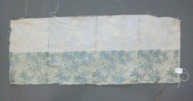 Onondaga Silk Company, Inc. (1925-1981). <em>Textile Swatches</em>, 1948-1959. Silk, 24 x 9 1/2 in. (61 x 24.1 cm). Brooklyn Museum, Gift of the Onondaga Silk Company, 64.130.211 (Photo: Brooklyn Museum, CUR.64.130.211.jpg)