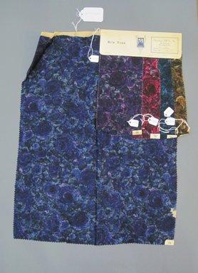 Onondaga Silk Company, Inc. (1925-1981). <em>Textile Swatches</em>, 1948-1959. Wool blend, a: 23 1/2 x 17 1/4 in. (59.7 x 43.8 cm). Brooklyn Museum, Gift of the Onondaga Silk Company, 64.130.225a-e (Photo: Brooklyn Museum, CUR.64.130.225a-e.jpg)