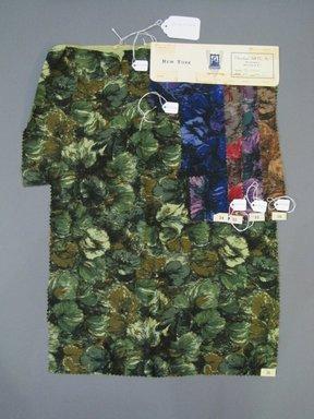 Onondaga Silk Company, Inc. (1925-1981). <em>Textile Swatches</em>, 1948-1959. Wool blend, a: 23 x 17 1/4 in. (58.4 x 43.8 cm). Brooklyn Museum, Gift of the Onondaga Silk Company, 64.130.227a-e (Photo: Brooklyn Museum, CUR.64.130.227a-e.jpg)