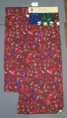 Onondaga Silk Company, Inc. (1925-1981). <em>Textile Swatches</em>, 1948-1959. Silk, a: 41 x 21 1/2 in. (104.1 x 54.6 cm). Brooklyn Museum, Gift of the Onondaga Silk Company, 64.130.233a-e (Photo: Brooklyn Museum, CUR.64.130.233a-e.jpg)