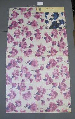 Onondaga Silk Company, Inc. (1925-1981). <em>Textile Swatches</em>, 1948-1959. Silk, a: 42 1/2 x 24 in. (108 x 61 cm). Brooklyn Museum, Gift of the Onondaga Silk Company, 64.130.240a-b (Photo: Brooklyn Museum, CUR.64.130.240a-b.jpg)