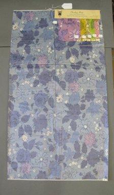 Onondaga Silk Company, Inc. (1925-1981). <em>Textile Swatches</em>, 1948-1959. Silk, a: 42 1/2 x 23 1/2 in. (108 x 59.7 cm). Brooklyn Museum, Gift of the Onondaga Silk Company, 64.130.243a-f (Photo: Brooklyn Museum, CUR.64.130.243a-f.jpg)