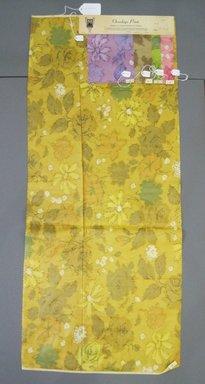 Onondaga Silk Company, Inc. (1925-1981). <em>Textile Swatches</em>, 1948-1959. Silk, a: 42 1/2 x 18 in. (108 x 45.7 cm). Brooklyn Museum, Gift of the Onondaga Silk Company, 64.130.245a-e (Photo: Brooklyn Museum, CUR.64.130.245a-e.jpg)