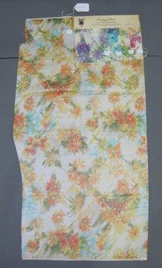 Onondaga Silk Company, Inc. (1925-1981). <em>Textile Swatches</em>, 1948-1959. Silk, a: 42 1/2 x 22 in. (108 x 55.9 cm). Brooklyn Museum, Gift of the Onondaga Silk Company, 64.130.246a-e (Photo: Brooklyn Museum, CUR.64.130.246a-e.jpg)