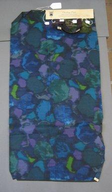Onondaga Silk Company, Inc. (1925-1981). <em>Textile Swatches</em>, 1948-1959. Silk, a: 40 1/2 x 21 in. (102.9 x 53.3 cm). Brooklyn Museum, Gift of the Onondaga Silk Company, 64.130.251a-d (Photo: Brooklyn Museum, CUR.64.130.251a-d.jpg)