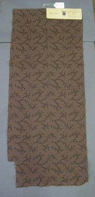 Onondaga Silk Company, Inc. (1925-1981). <em>Textile Swatches</em>, 1948-1959. 38% rayon, 35% silk, 27% acrylic, 42 x 17 3/4 in. (106.7 x 45.1 cm). Brooklyn Museum, Gift of the Onondaga Silk Company, 64.130.263 (Photo: Brooklyn Museum, CUR.64.130.263.jpg)