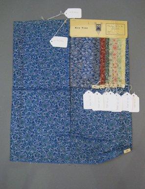Onondaga Silk Company, Inc. (1925-1981). <em>Textile Swatches</em>, 1948-1959. 41% silk, 30% rayon, 15% nylon, 14% metal, a: 22 x 17 3/4 in. (55.9 x 45.1 cm). Brooklyn Museum, Gift of the Onondaga Silk Company, 64.130.283a-h (Photo: Brooklyn Museum, CUR.64.130.283a-h.jpg)