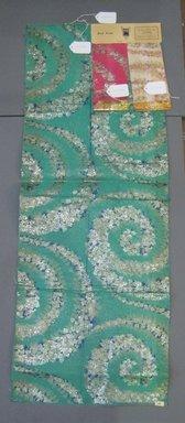 Onondaga Silk Company, Inc. (1925-1981). <em>Textile Swatches</em>, 1948-1959. Silk and metal yarns, a: 47 x 17 in. (119.4 x 43.2 cm). Brooklyn Museum, Gift of the Onondaga Silk Company, 64.130.285a-c (Photo: Brooklyn Museum, CUR.64.130.285a-c.jpg)