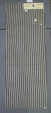 Onondaga Silk Company, Inc. (1925-1981). <em>Textile Swatches</em>, 1948-1959. Silk, a: 45 1/2 x 17 in. (115.6 x 43.2 cm). Brooklyn Museum, Gift of the Onondaga Silk Company, 64.130.298a-b (Photo: Brooklyn Museum, CUR.64.130.298a-b.jpg)