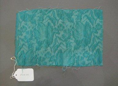 Onondaga Silk Company, Inc. (1925-1981). <em>Textile Swatches</em>, 1948-1959. Silk, possibly synthetic fiber, 11 1/2 x 7 1/2 in. (29.2 x 19.1 cm). Brooklyn Museum, Gift of the Onondaga Silk Company, 64.130.305 (Photo: Brooklyn Museum, CUR.64.130.305.jpg)