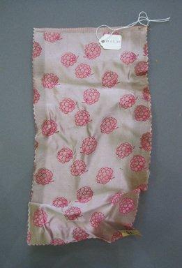 Onondaga Silk Company, Inc. (1925-1981). <em>Textile Swatches</em>, 1948-1959. Silk, 11 x 5 in. (27.9 x 12.7 cm). Brooklyn Museum, Gift of the Onondaga Silk Company, 64.130.310 (Photo: Brooklyn Museum, CUR.64.130.310.jpg)