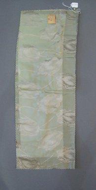 Onondaga Silk Company, Inc. (1925-1981). <em>Textile Swatches</em>, 1948-1959. Silk, 23 3/4 x 8 1/2 in. (60.3 x 21.6 cm). Brooklyn Museum, Gift of the Onondaga Silk Company, 64.130.316 (Photo: Brooklyn Museum, CUR.64.130.316.jpg)