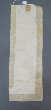 Onondaga Silk Company, Inc. (1925-1981). <em>Textile Swatches</em>, 1948-1959. Silk, 23 1/2 x 8 in. (59.7 x 20.3 cm). Brooklyn Museum, Gift of the Onondaga Silk Company, 64.130.319 (Photo: Brooklyn Museum, CUR.64.130.319.jpg)