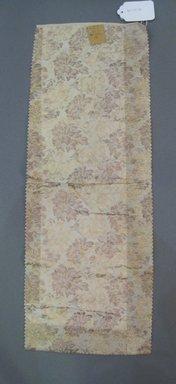 Onondaga Silk Company, Inc. (1925-1981). <em>Textile Swatches</em>, 1948-1959. Silk, 24 x 9 in. (61 x 22.9 cm). Brooklyn Museum, Gift of the Onondaga Silk Company, 64.130.331 (Photo: Brooklyn Museum, CUR.64.130.331.jpg)