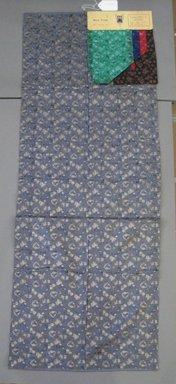 Onondaga Silk Company, Inc. (1925-1981). <em>Textile Swatches</em>, 1948-1959. Silk, 47 1/2 x 18 in. (120.7 x 45.7 cm). Brooklyn Museum, Gift of the Onondaga Silk Company, 64.130.374 (Photo: Brooklyn Museum, CUR.64.130.374.jpg)