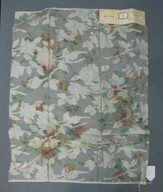 Onondaga Silk Company, Inc. (1925-1981). <em>Textile Swatches</em>, 1948-1959. Silk, 26 x 35 1/4 in. (66 x 89.5 cm). Brooklyn Museum, Gift of the Onondaga Silk Company, 64.130.41 (Photo: Brooklyn Museum, CUR.64.130.41.jpg)