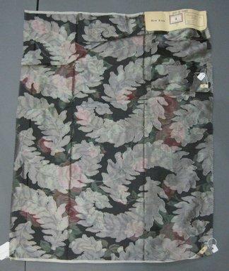 Onondaga Silk Company, Inc. (1925-1981). <em>Textile Swatches</em>, 1948-1959. Silk, a: 26 x 35 1/2 in. (66 x 90.2 cm). Brooklyn Museum, Gift of the Onondaga Silk Company, 64.130.42a-b (Photo: Brooklyn Museum, CUR.64.130.42a-b.jpg)