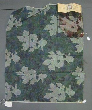 Onondaga Silk Company, Inc. (1925-1981). <em>Textile Swatches</em>, 1948-1959. Silk, a: 26 x 35 1/2 in. (66 x 90.2 cm). Brooklyn Museum, Gift of the Onondaga Silk Company, 64.130.43a-b (Photo: Brooklyn Museum, CUR.64.130.43a-b.jpg)